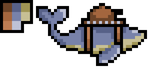 Skywhale Tank - Pixel Practice by GildedMelody