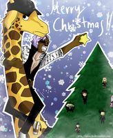 CP9 Christmas Postcard 08 by Isara-La