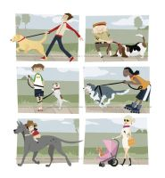 How to Walk a Dog by erinwitzel