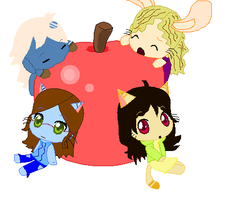 Freind Apple C: by Neenagirl2220