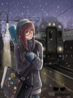 severe winter, and I by Kompot-san