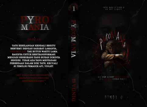 Book Jacket - Pyromania by duck-goes-quack