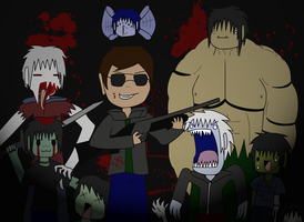Attack of the Undead Andrews by wambulenceman