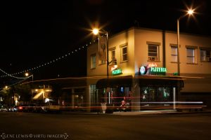 San Pedro Nights with Pizza by Virtu-Imagery