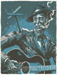 Robert Johnson by JoetheMick
