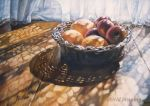 Sundrenched - Oil Painting by AstridBruning