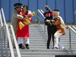 AX 2013: Russia X China by KatyMerry