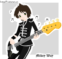 MCR- Mikey Way wttbp by gossipgirl15