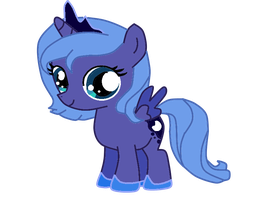 Filly Luna by LollyWren