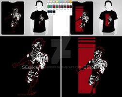 Zombie Rush T_shirts by SEspider