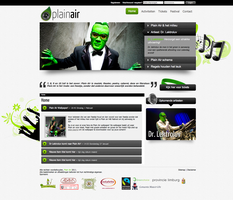 Plain Air Website by WilDchilDD