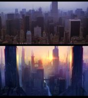 future city thing by Flaskpost