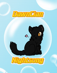 Nightsong of Dawnclan by Nuller4444