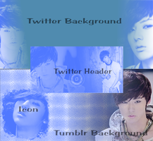 NU'EST MinHyun Tumblr+Twitter Backgrounds by ClickTheLikeIt