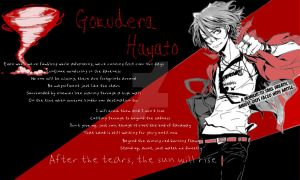 Hayato Gokudera background by BlackRoseBandKitsune