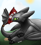 Toothless by tyler-gf123