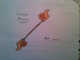 Techno Blade (Laurie) by lucariogirl26