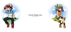 I never forget you by Esha-R