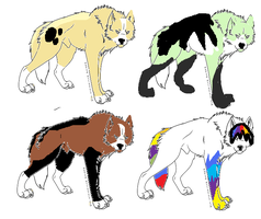 Wolfves sell by TheFurryFriend
