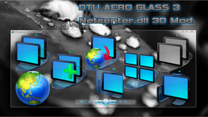 DTU AERO GLASS 3 Netcenter.dll 3D Mod. by Fiazi