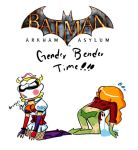BATMAN ARKHAM ASYLUM GB TIME by XxDaimonxX