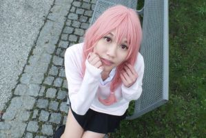 Karuta Roromiya (InuxBoku SS) - trying to be cute by CupcakeStar-Xx