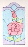 Stained Glass Rose by Kindred-Spirit