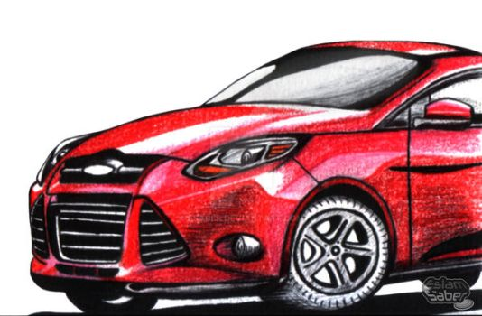 Ford Focus by esaber