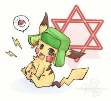I Choose You,  PIKA-JEW by chibibarrage