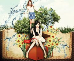 My Garden by Jungyedolly