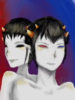Two Faced Gemini by MangaFreak45