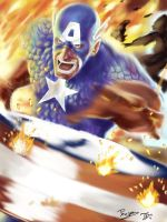 Captain america by typ-x