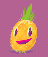 Mr. Pineapple by skortbulb