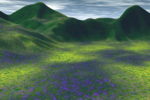 Render 2 - Meadow by markopolio-stock