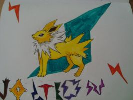 Jolteon by Emerald-Outrage