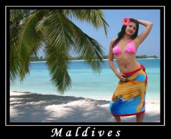 Maldives by AnnFrost