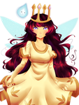 PM: Child of Light by MarchBunny