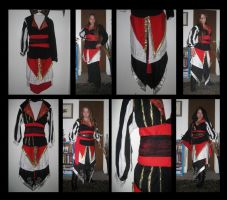 Assassin's Creed Costume WIP by TheCrimsonCrow