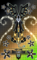 Keyblade Hurricane Gear by Marduk-Kurios