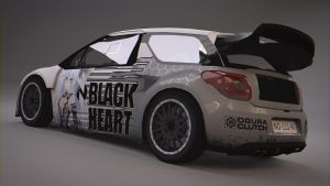 Citroen DS3 RX Black Heart by BFG-9KRC