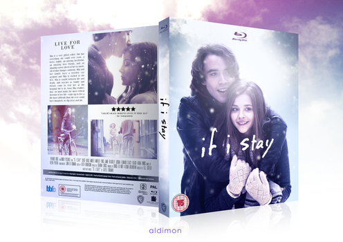 If I Stay (Custom Blu-Ray Cover Art) by aldimon