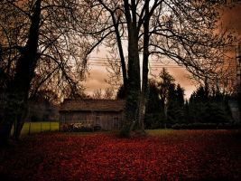 Autumn Cottage by random-chris