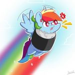 Rainbow Rolled Dash by Aerostoner