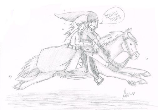 Epona Doesnt Want to Stop(: by ParamoreFreak1878