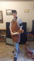 Steampunk engineer cosplay. by McMesser