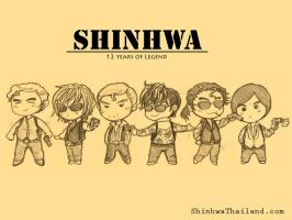Shinhwa's RUN Collection by finlandia