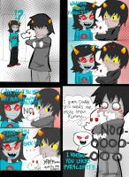 Karkat x Pyralspite x Terezi by ChipperTheDrawer