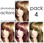 Photoshop Actions - Pack 4 by Lune-Tutorials