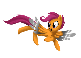 Commission: Scootaloo Metal Wings by Deftone-Stylus