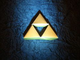 origami triforce by pepel57